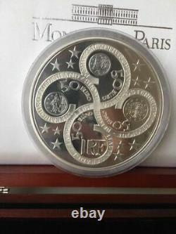 2003 France La Déesse Europa Énorme 1 Kilo KG Argent 50 Euro Pièce