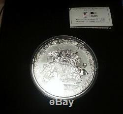 2007 2010 250 Kilo Canada Jeux Olympiques De Vancouver Jeux D'argent Monnaie Box Coa