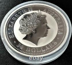 2007 Australie Lunar I Year Of The Pig 1 Kilo KG Silver Coin 30 $ Perth Mint