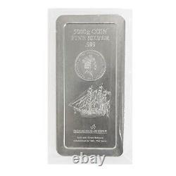 2008 5 Kilo Silver Heimerle & Meule Îles Cook 150 $ Barre De Monnaie. 999 Amende
