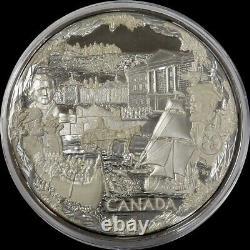 2008 Silver Canada Proof Kilo Olympics Confédération 32,15 Oz 999 Fine 250 $ Coin