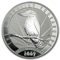 2009 Australie 1 Kilo Argent Kookaburra Bu Sku #43877