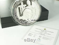 2009 Le Pape Jean-paul II 1 Kilo. 999 Pièce En Argent Fin Avec Coa Et Box
