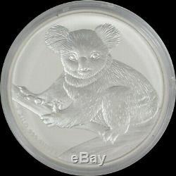 2009 P Argent Australie 1 Kilo KG $ 30 Koala Coin Capsule