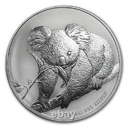 2010 Australie 1 Kilo Argent Koala Bu