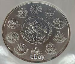 2010 Mexique Ngc Pf69 Ucam Proof 1 Kilo. 999 Argent Libertad Coin Aztèque