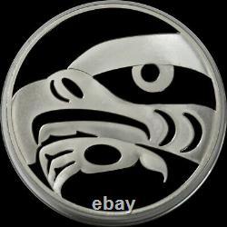2010 Silver Canada Proof Kilo Olympics Eagle 32,15 Oz 999 Amende 250 $ Pièce De Monnaie