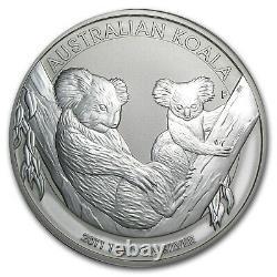 2011 Australie 1 Kilo Argent Koala Bu Sku #59033