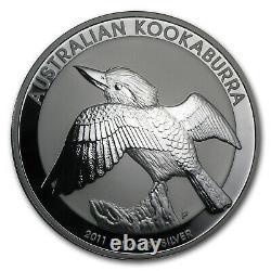 2011 Australie 1 Kilo Argent Kookaburra Bu Sku #59007