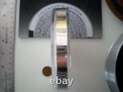 2011 Mexique Azteca 100 Pesos 1 Kilo 32,15 Oz Preuve Comme Pièce D'argent