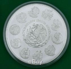2011 Mexique Ley 1 Kg. 999 Plata Pura Mexicain Kilo Libertad Silver Coin