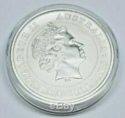 2011 P Australie 1 Kilo 32,15 Troy Onces. 999 Argent Koala 30 $ Mint Capsule