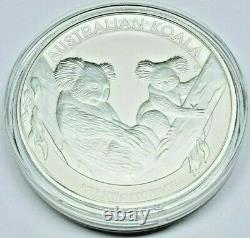 2011 P Australie 1 Kilo 32.15 Troy Oz. 999 Silver Koala $30 In Mint Capsule