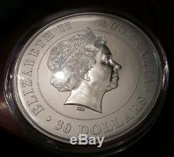 2012 1 Kilo Koala Ours D'argent Coin. 999