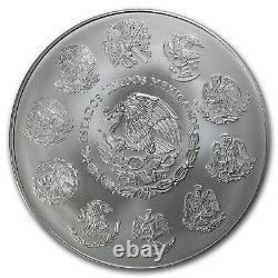 2012 Mexique 1 Kilo D'argent Libertad Bu (capsule) Sku # 79702
