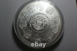 2012 Mexique Ley 1 Kg. 999 Plata Pura Mexicain Kilo Libertad Silver Coin
