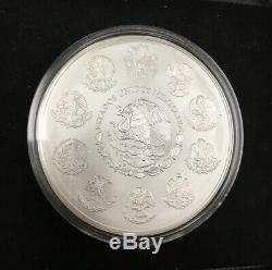 2012 Mexique Ley 1 Kg. 999 Plata Pura Mexicain Kilo Libertad Silver Coin Q1k79