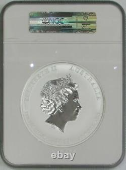 2012 P Silver Australia Kilo KG 32,15 Oz Lunar Dragon Ngc Mint State 69