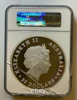 2012-p 1 Kilo Australie Argent Australien Koala Coin $30 Ngc Pf 69 Ultra Cameo