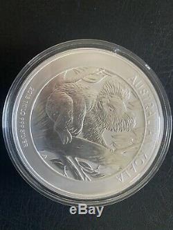 2013 1 Kilo Australie (32,15 Troy Oz). 999 $ Argent Koala 30 Monnaie De Perth Mint Bu