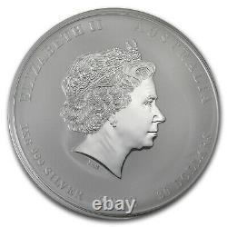 2013 Australie 1 Kilo Année D'argent De La Snake Bu Sku #71335
