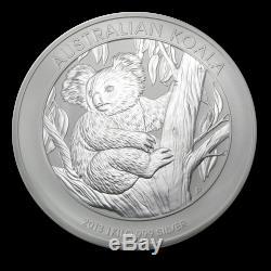 2013 Australie 1 Kilo D'argent Koala Bu Sku # 71398