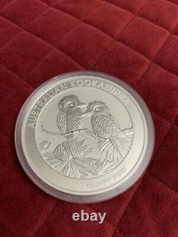 2013 Australien Kookaburra Kilo. 999 Monnaie Perthe D'argent