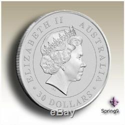 2014 1 Kilo Argent Australian Kookaburra Bu Dans Pièces Capsule Spring9 Mint Rare