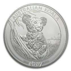 2015 $30 Australian Koala Kilo Silver Coin Bu