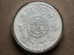 2015 Argent Libertad 1 Kilo (32,15 Oz) Mint Capsule, 2000 Mintage