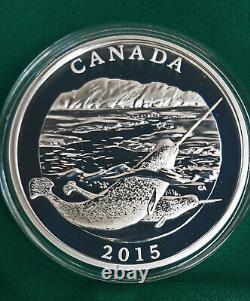2015 Canada 3 X 125 $ Pièce Conservation Series Argent Pur 1/2 Kilo Chacun! Parfait