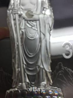2015 Chinois Sacré Bouddhiste Montagne (mont Jiuhua) 1 KG Kilo Pièce D'argent