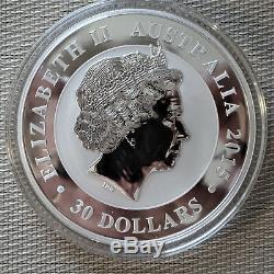 2015 Kookaburra 1 Kilo Silver Coin