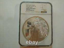 2016 1 Kilo Star Wars Silver Coin Pf-69 Ultra Cameo