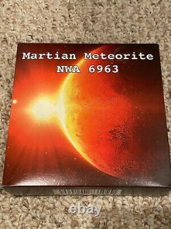 2016 $50 Niue, Mars / Martian Meteorite Nwa 6963 Kilo Pièce! Seulement 99 Produits