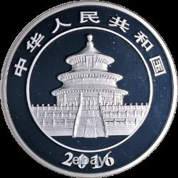 2016 Chine Argent Panda 300 Yuan Ngc Pf69 Ultra Cameo 1 Kilo Argent Panda Lbl