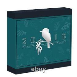 2016 Kookaburra Preuve 1 Kilo $ 30 Coin Argent Pur Kilogramme Ngc 500 Pf70 Mintage
