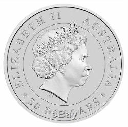 2016-p Australie 1 Kilo (32,15 Oz). 999 $ Argent Koala 30 Monnaie De Perth Mint Bu