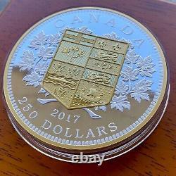 2017 Canada Kilo Commémorant La Première Pièce D'or Canadienne Absolument Magnifique
