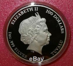 2017 Gardiens De La Galaxie Marvel 1 Kilo Silver Coin Polychrome
