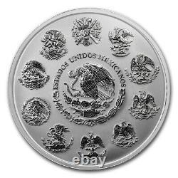 2017 Mexique 1 Kilo D'argent Libertad Haute Preuve De Secours Comme