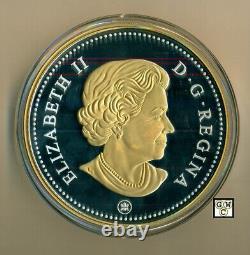 2018kilo'voyageur Silver Dollar' Plaqué Or Prf $1 Fine Silver Coin (18645)ooak