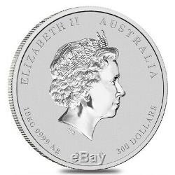 2019 10 Kilo Argent Lunaire Année Du Cochon Bu Australie Perth Mint En Cap