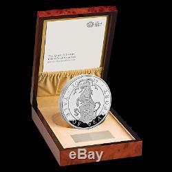 2019 Go Preuve 1 Kilo De Silver Queen Bêtes Yale (withbox & Coa) Sku # 186789