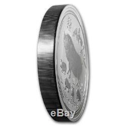 2019 Kilo. 9999 Argent Lunaire Année Du Pig Perth Mint Capsule 848,88 $