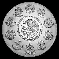 2019 Mexique 1 Kilo D'argent Libertad Bu (capsule) Sku # 186588