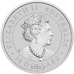 2019 P Australie Argent Koala Kilo 32,15 Oz $ 30 Bu