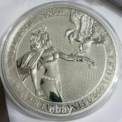 2020 1 Kilo Argent 80 Mark Germania Pièce, 100 Minted