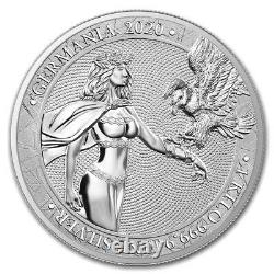 2020 1 Kilo Silver 80 Mark Germania Monnaie 100 Monnaie