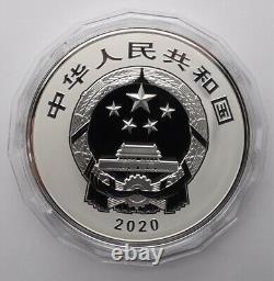 2020 Chine 2 Kilo Argent Pièce 600e Anniversaire De La Cité Interdite
